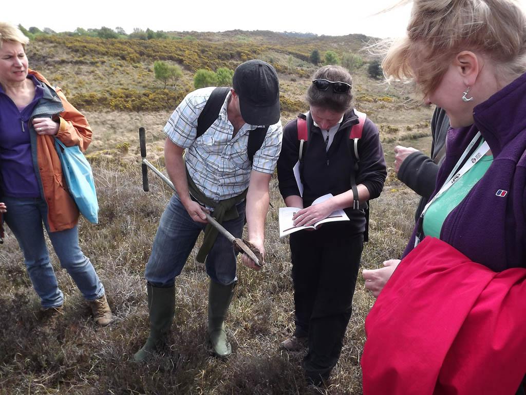 Soil augering Agglestone