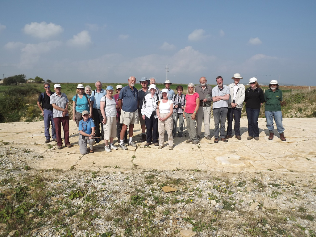 Group at Keats' Quarry