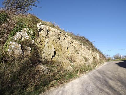 Corton road section